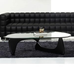 ノグチテーブル19mm 選べる脚部2タイプ イサムノグチ コーヒーテーブル ローテーブル ガラステーブル 代引不可|rcmdse