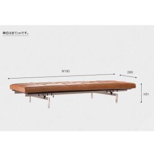 デザイナーズ ソファ ベッドPK80 ポール・ケアホルム 代引不可|rcmdse|03