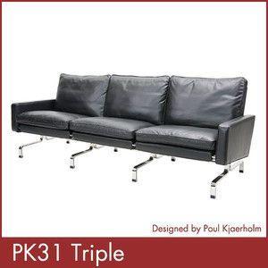 ポール ケアホルム PK31 3P Paul Kjaerholm ソファー デザイナーズ 家具 1年保証付 送料無料|rcmdse