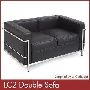 ル コルビジェ LC2 ダブルソファー Le Corbusier コルビジェ ソファー デザイナーズ 家具 1年保証付 送料無料|rcmdse