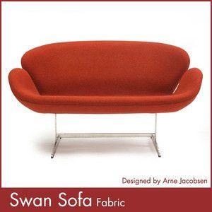 スワンソファー ファブリック アルネ ヤコブセン Arne Jacobsen Swan Sofa ミッドセンチュリー 1年保証付 送料無料|rcmdse