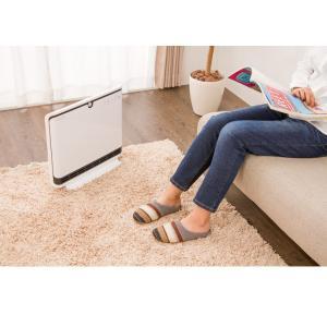 ヒーター simplus 人感センサー付 PTCヒーター 1200W/600W セラミックファンヒーター ホワイト 暖房 パネルヒーター 電気ストーブ 小型 コンパクト|rcmdse|14