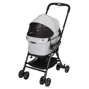 コンビ ペットカート コムペット ミリミリEG ライトグレー 中型犬 バギー ペット カート キャリー 犬用 4輪 お散歩カー|rcmdse