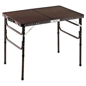木目調軽量折りたたみテーブル 90cm テーブル 机 つくえ 折りたたみ 代引不可 rcmdse