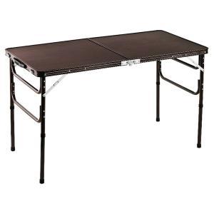 木目調軽量折りたたみテーブル 120cm テーブル 机 つくえ 折りたたみ 代引不可|rcmdse