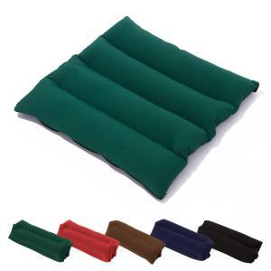 2WAY ビーズクッション 35×35cm チェアパッド シートクッション いす フロアクッション 枕 ごろ寝 クッション 枕 まくら ビーズ マイクロビーズ 極小ビーズ|rcmdse