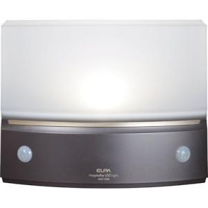 ELPA もてなしのあかり(LEDフットライト) 白色LED 3W 据置型・薄型 HLH-1203(DB)|rcmdse