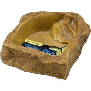 自然の岩をイメージしたテラリウムにぴったりな爬虫・両生類用水飲み入れです。 メーカー:GEX(ジェッ...