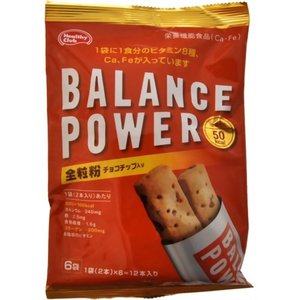 バランスパワー 全粒粉(チョコチップ入り) 6...の関連商品1