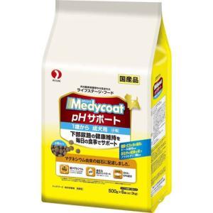 メディコート pHサポート 1歳から 成犬用 3Kg(500g×6袋) ポイント10倍