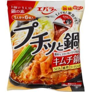 エバラ プチッと鍋 キムチ鍋 23g×6個...