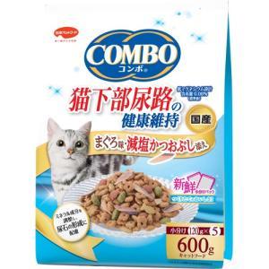 コンボ 猫下部尿路の健康維持 まぐろ味・減塩かつおぶし添え 120g×5袋 ポイント10倍
