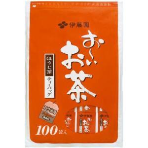 伊藤園 おーいお茶 ほうじ茶ティーバッグ 100袋入 ポイント10倍