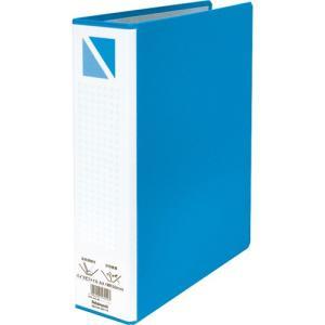 パイプ式ファイル A4・S型/2穴/綴厚50mm ブルー PFP-A4S-5B ポイント10倍