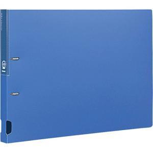 Dリングファイル A3・E型/2穴/綴厚25mm ブルー RF1112B-N ポイント10倍