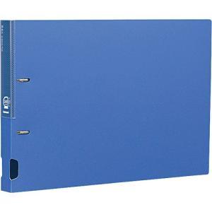 Dリングファイル B4・E型/2穴/綴厚25mm ブルー RF1122B-N ポイント10倍
