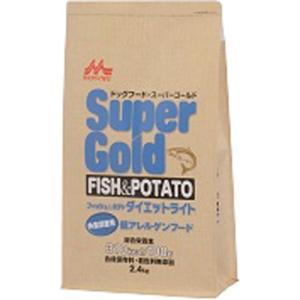 スーパーゴールド フィッシュ&ポテト ダイエットライト 体重調整用 低アレルゲンフード 2.4kg ポイント10倍