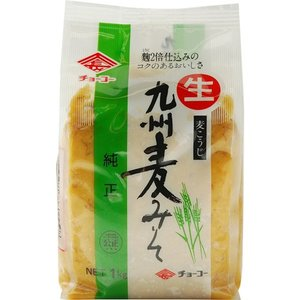 チョーコー 九州麦みそ 1kg ポイント10倍