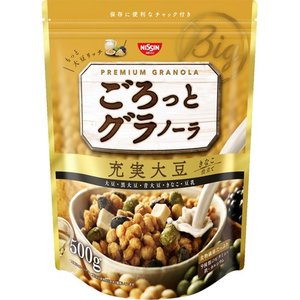 日清シスコ ごろっとグラノーラ 充実大豆 きなこ...の商品画像