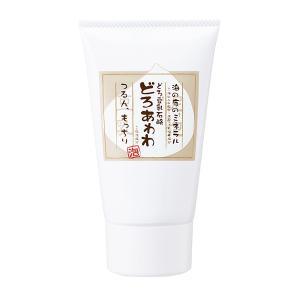 どろ豆乳石鹸 どろあわわ 110g チューブタイプ ネット付き 洗顔石鹸 洗顔料 洗顔フォーム 洗顔 泡 泥 ドロ 石鹸 豆乳の商品画像|ナビ