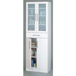 食器棚 ホワイト カトレア・食器棚60−180|rcmdse