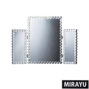 鏡 三面鏡 卓上 卓上鏡 ミラー クロシオ ミラー 化粧鏡代引不可|rcmdse
