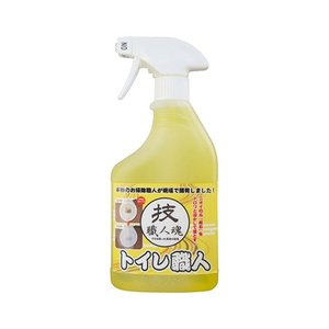 トイレ職人 500ml トイレ用合成洗剤 洗浄剤 尿石除去剤 スプレーボトル 便器 掃除 清掃 お手...