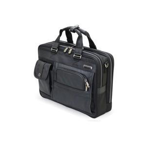 ウノフク 23-5589 バジェックス ブリーフケース Wルーム型 ブラック キャリーバー固定ベルト付き ビジネスバッグ 撥水 代引不可|rcmdse