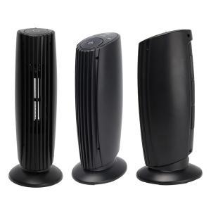 USB イオン 空気清浄機 卓上 コンパクト 匂い ほこり マイナスイオン MEH-108 静音 スリム シンプル ホワイト ブラック|rcmdse|02