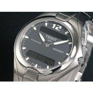 ティソ TISSOT 腕時計 チタン メンズ T65758861|rcmdse
