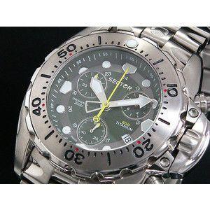 セクター チタン メンズ 200M防水 ダイバー 腕時計 A3.600TC.075|rcmdse