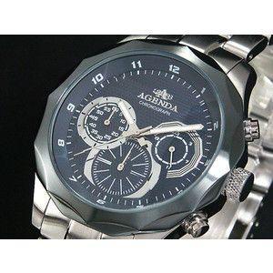 アジェンダ AGENDA 腕時計 クロノグラフ AG-8021-02|rcmdse
