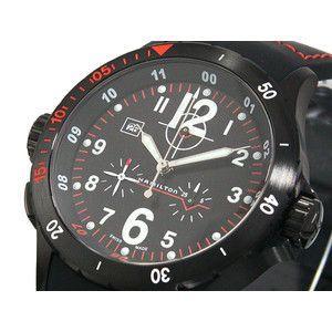 HAMILTON ハミルトン カーキ エアー クロノ 腕時計 H74592333|rcmdse