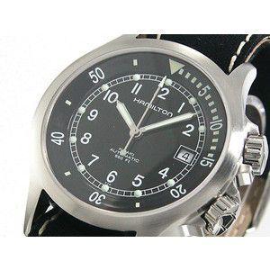 ハミルトン HAMILTON 腕時計 カーキ ネイビー オート H77515433|rcmdse