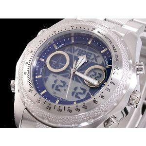AVIREX アヴィレックス 腕時計 アナデジ メンズ AX-017M-5|rcmdse