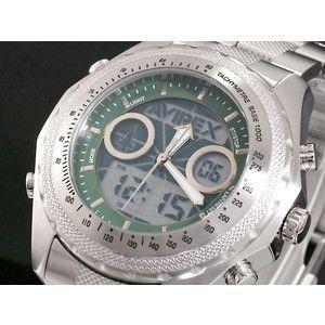 AVIREX アヴィレックス 腕時計 アナデジ メンズ AX-017M-6|rcmdse