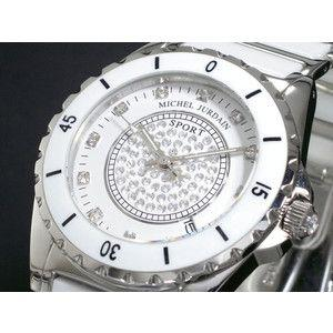 ミシェルジョルダン SPORT 腕時計 セラミック MJ-7000G-WH rcmdse