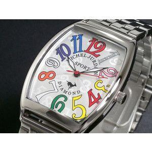 ミシェルジョルダン SPORT 腕時計 天然ダイヤ SG-1000-5 rcmdse