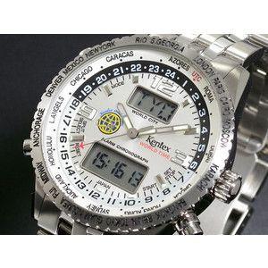 ケンテックス Kentex スカイマン ワールドタイム 腕時計  S368X-18|rcmdse