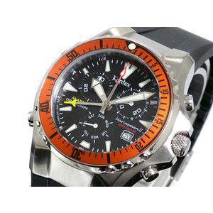 ケンテックス Kentex マリンマン2 クロノグラフ 腕時計 S332M-15|rcmdse