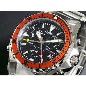 ケンテックス Kentex マリンマン2 クロノグラフ 腕時計 S332M-17|rcmdse