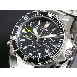 ケンテックス Kentex マリンマン2 クロノグラフ 腕時計 S332M-18|rcmdse