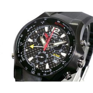 ケンテックス Kentex スカイマン3 クロノグラフ 腕時計 S295M-30|rcmdse