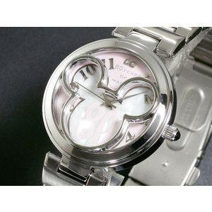 ディズニー ミッキー 腕時計 80周年 白蝶貝 ピンク DISNEY-5|rcmdse
