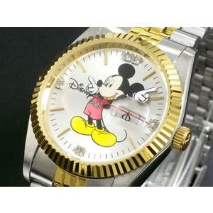 ディズニー ミッキー 腕時計 天然ダイヤ メンズ DINEY-9|rcmdse