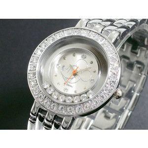 ディズニー ミッキー 腕時計 ハッピークリスタル 白 DINEY-13|rcmdse
