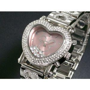 ディズニー ミッキー 腕時計 デリシャスハート ピンク DINEY-15|rcmdse
