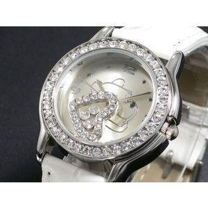 ディズニー プーさん 腕時計 ハッピークリスタル 白 DINEY-18|rcmdse