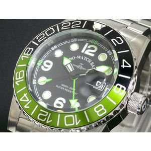 ZENO ゼノ 腕時計 メンズ 500m防水 スイス製 6349Q-GN-MT|rcmdse