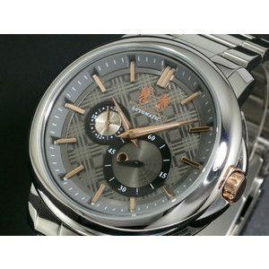 マックレガー McGREGOR 腕時計 自動巻き メンズ MCG-201-GY|rcmdse